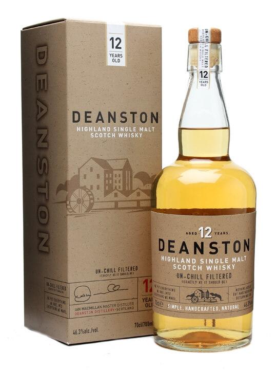 汀斯頓 12年 單一純麥威士忌 Deanston