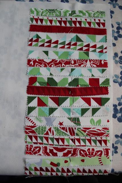 Scrappy Christmas Pillow - www.kimsixfix.com