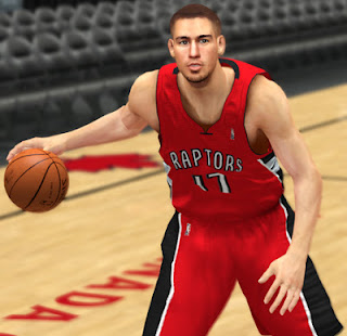 NBA 2K13 Jonas Valanciunas Cyberface Patch