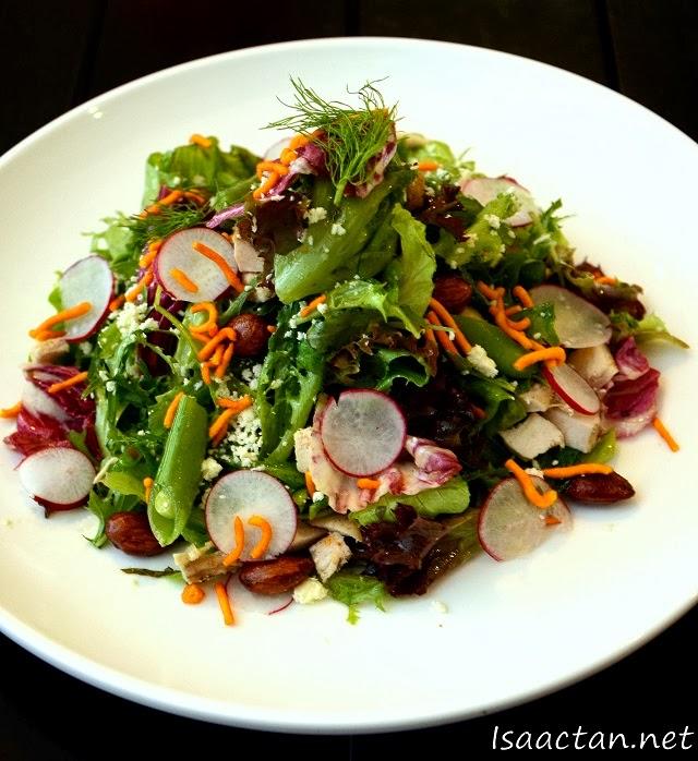 #2 NAKED House Salad - RM25