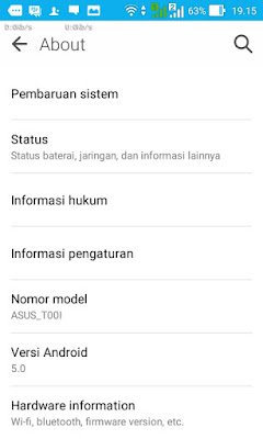 About Asus Zenfone 4 Lollipop
