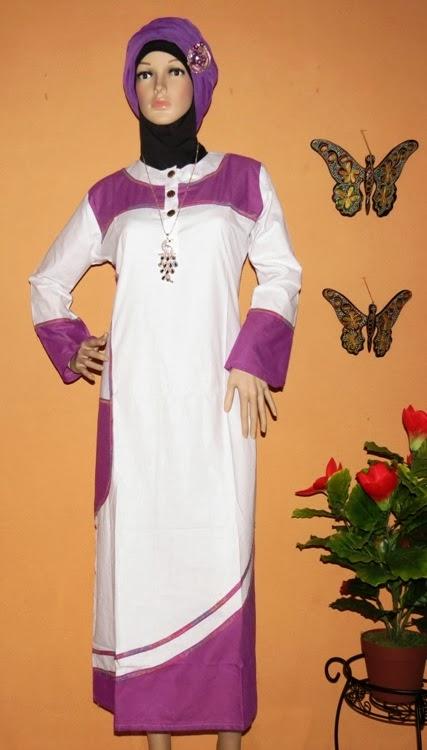 Baju Gamis Katun Terbaru Gk2256 Grosir Baju Muslim Murah