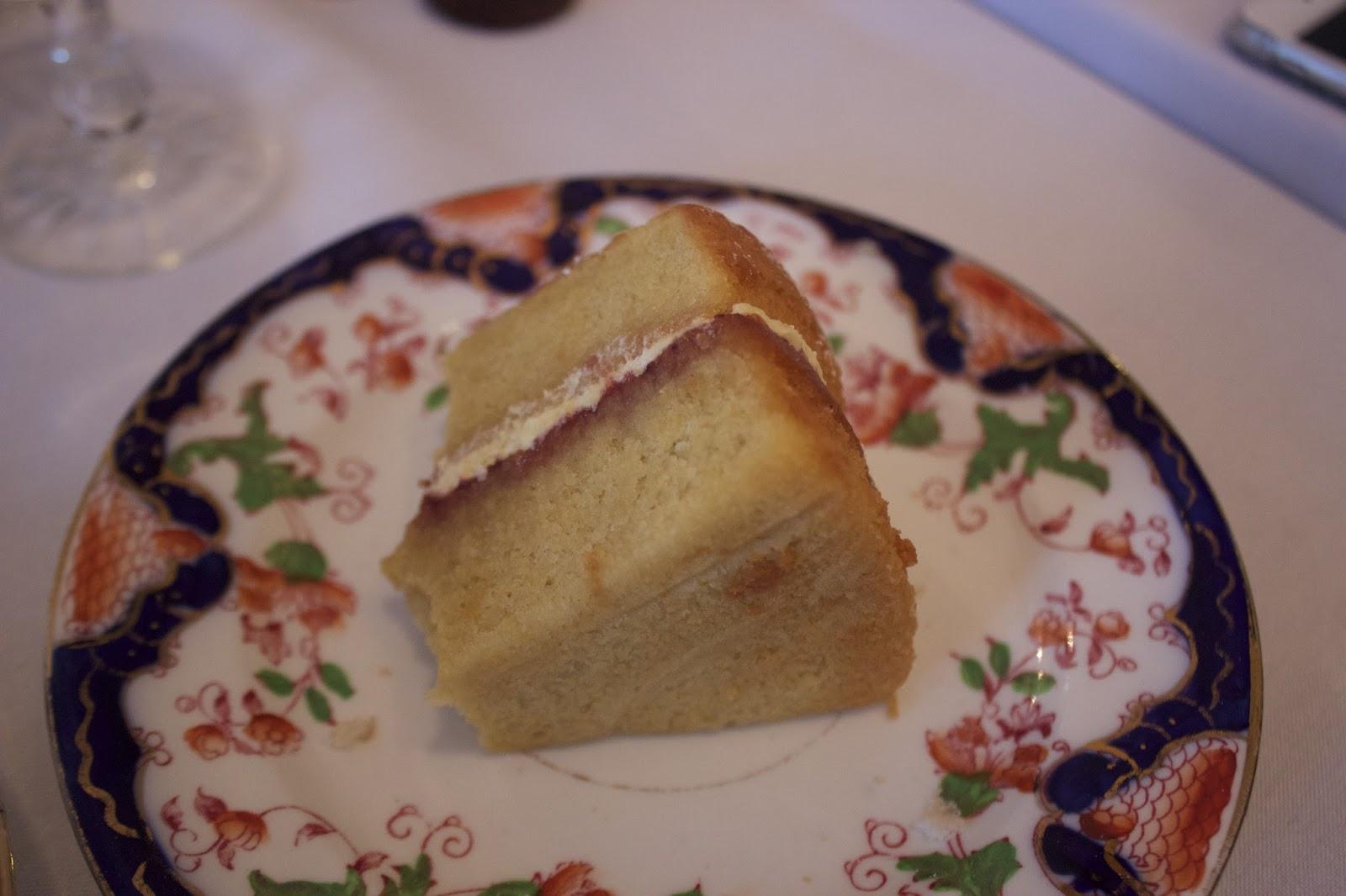 vegan victoria sponge cake tea parlour