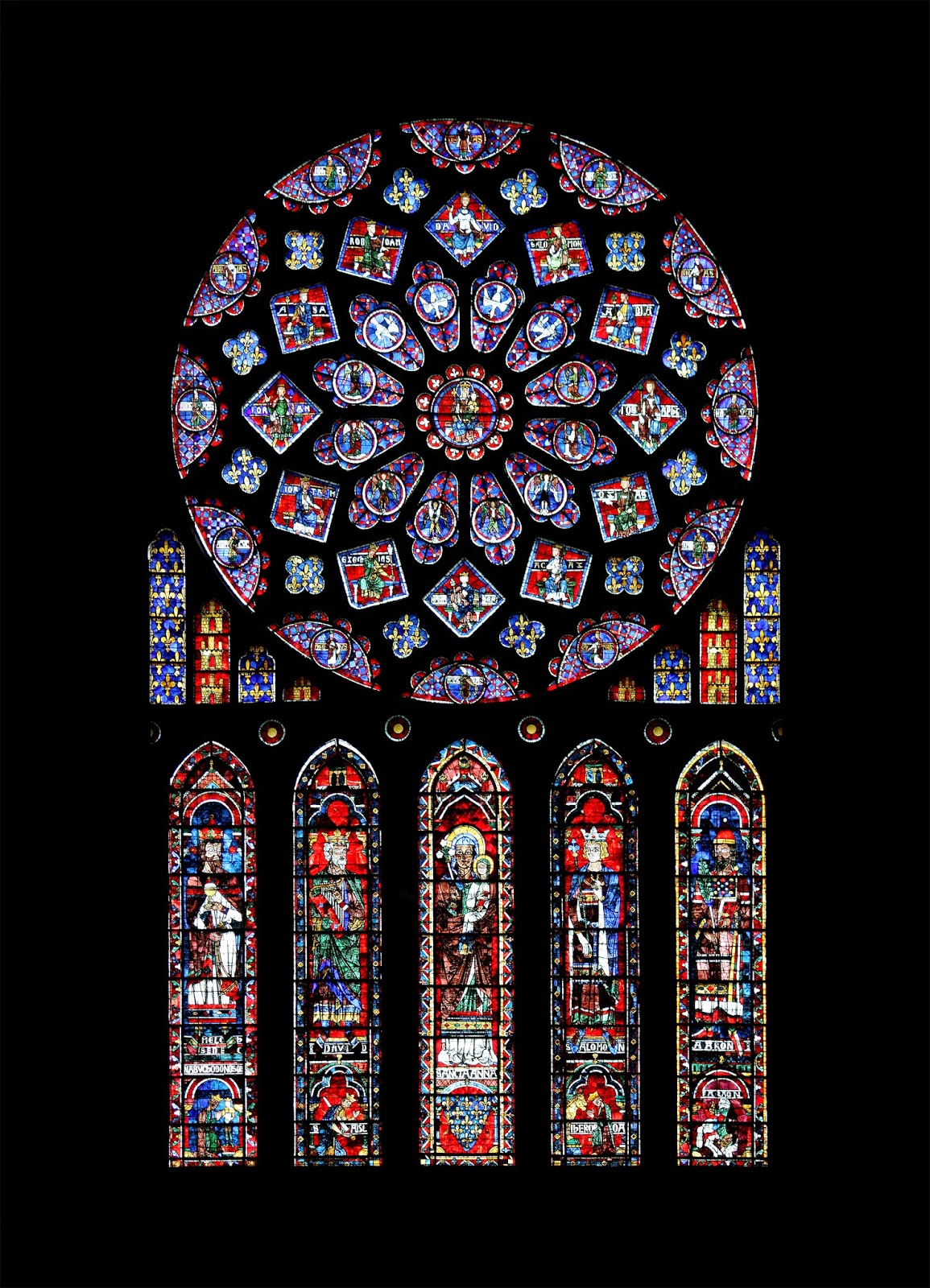 Stainglass Church Window, Attributre Wikipedia