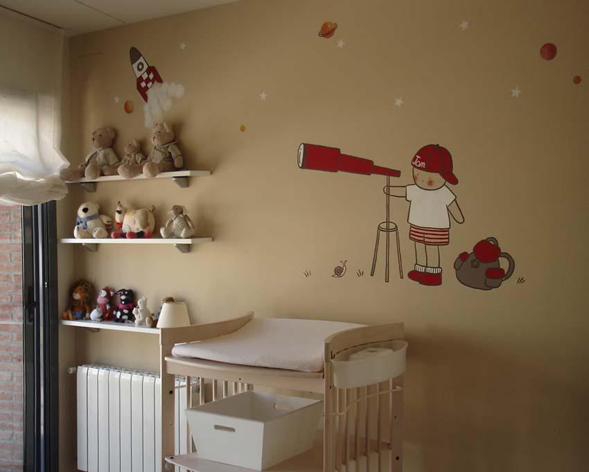 Stencil barcelona la habitaci n de jan - Dormitorios infantiles barcelona ...