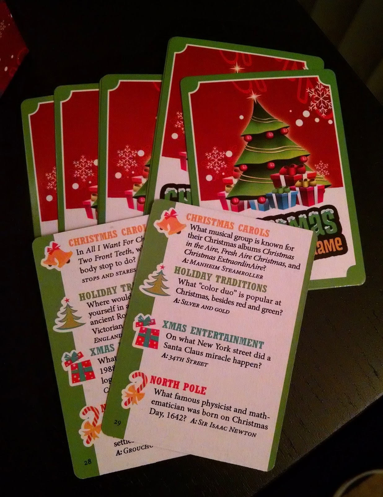 Game Review: Christmas Trivia Game