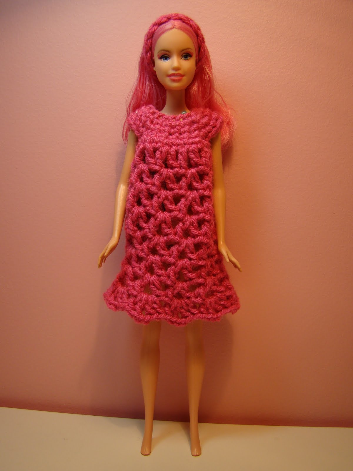 Crocheting Clothes : Craft Closet: Crochet Barbie Clothes