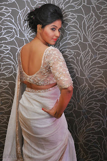 Anjali latest Glamorous pics in saree 036