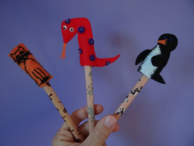 Animales de dedo