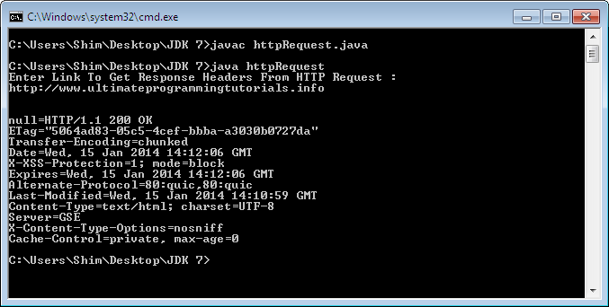 How To Get Response Headers From a HTTP Request in Java