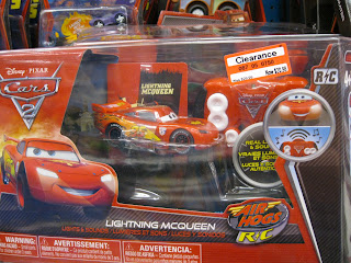 Disney Cars 2 Lightning McQueen Lights & Sound
