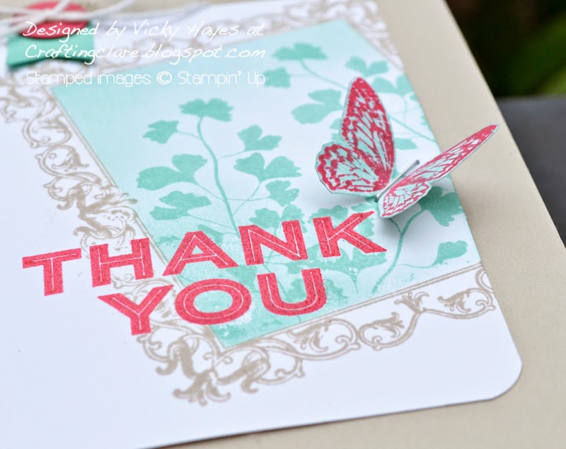 heat embossing with Stampin Up products availabe online
