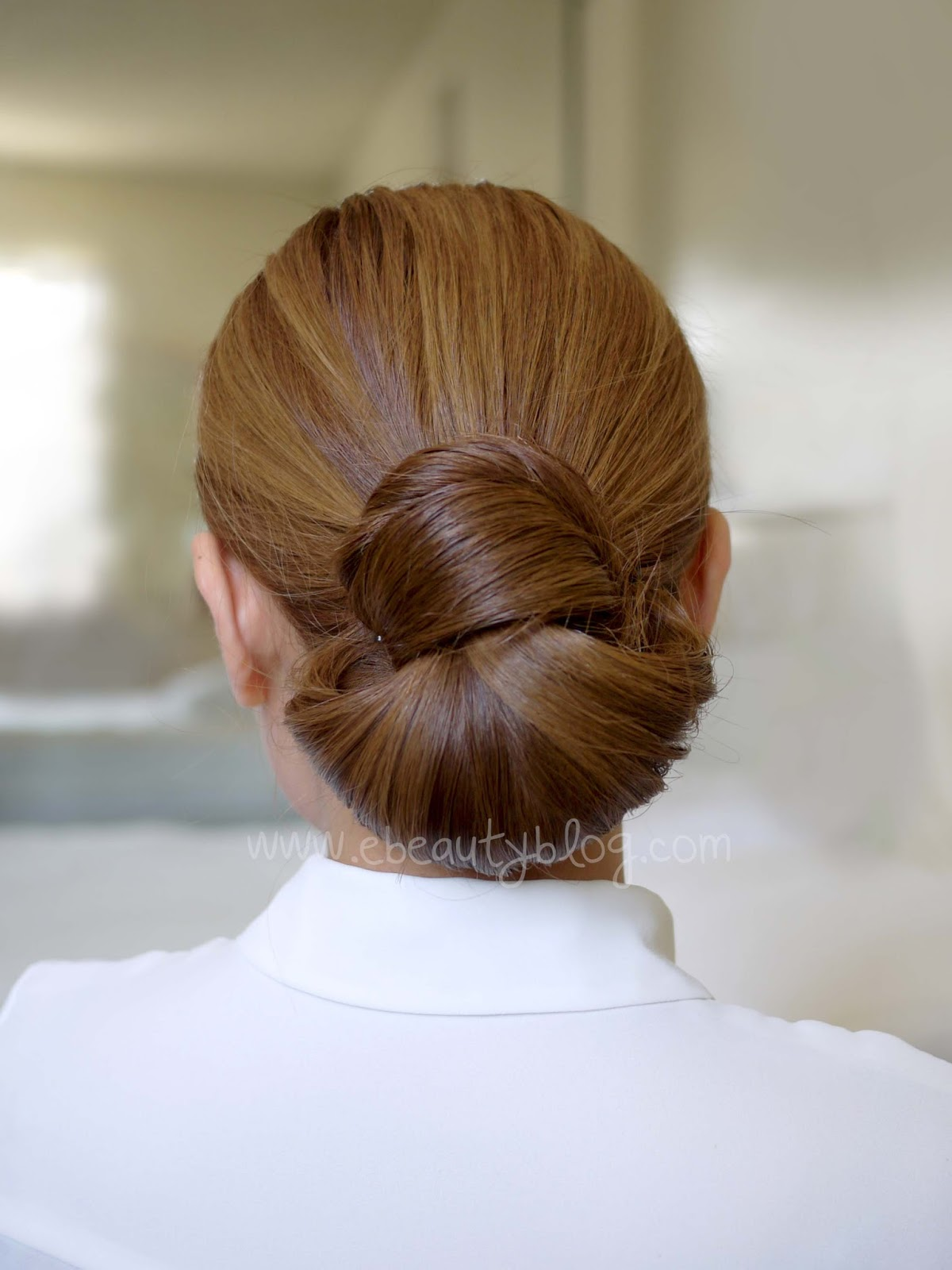 EbeautyBlog.com: Hair Tutorial: Easy Elegance Hair Bun