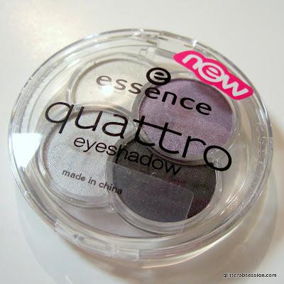 Essence Quattro eyeshadow in 01 XOXO, Essence Quattro eyeshadow in 01 XOXO swatch