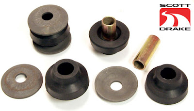 Exact Original Style 67-73 Mustang Strut Rod Bushing Kit