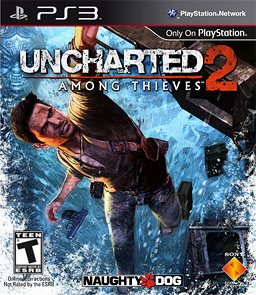 Uncharted 2 among thieves logo