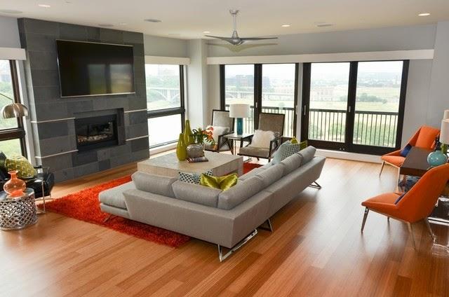 Salas con chimenea y tv salas con estilo - Salones con chimenea y television ...