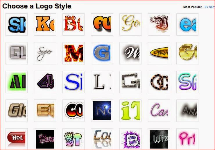Pilih Style Logo