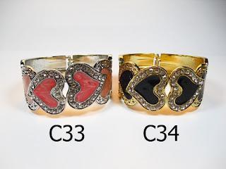 gelang aksesoris wanita c33c34