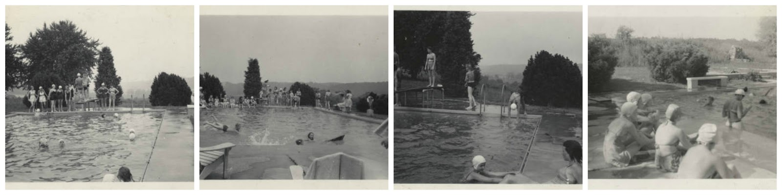 Swimming At The Lamotte Pool Educated Guesses Towson University Special Collections And