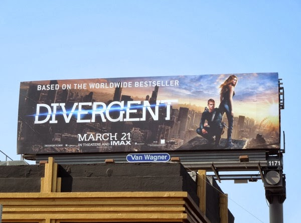 Divergent film billboard