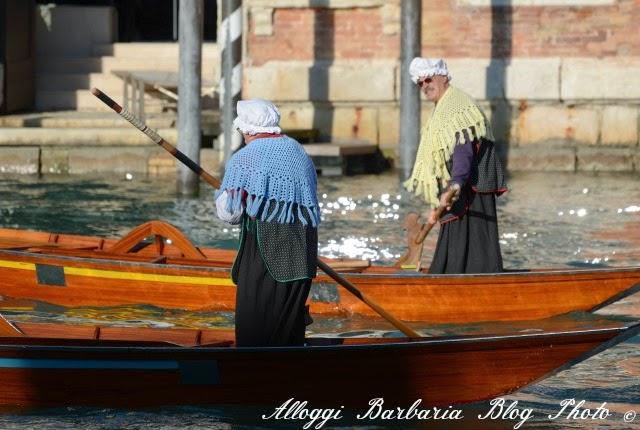 Befane durante la regata