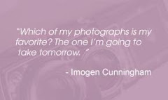 QUOTES ABOUT PHOTOGRAPHY: