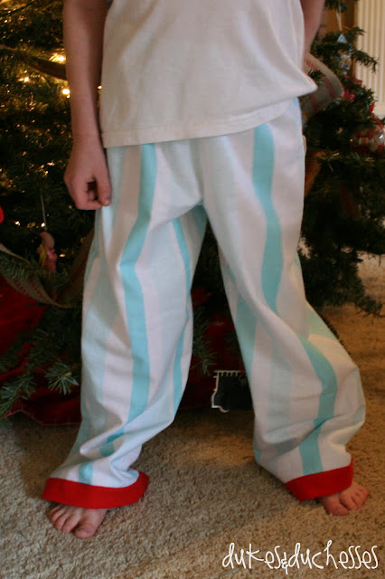Polar Express pajamas