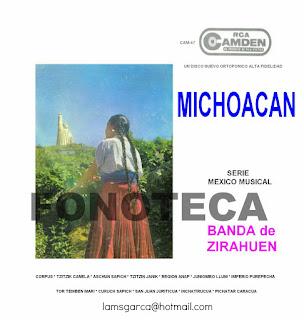 MICHOACÁN SERIE MÉXICO MUSICAL