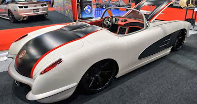 Modified Chevrolet Corvette ZR59 1959
