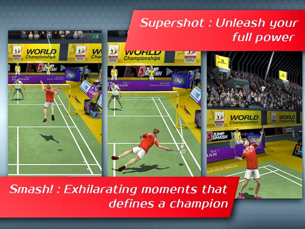 Badminton: JumpSmash™ v1.1.55 [Unlimited Coins]