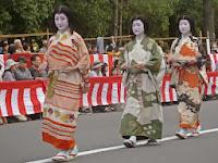 桃山時代を代表する豪華な衣装。