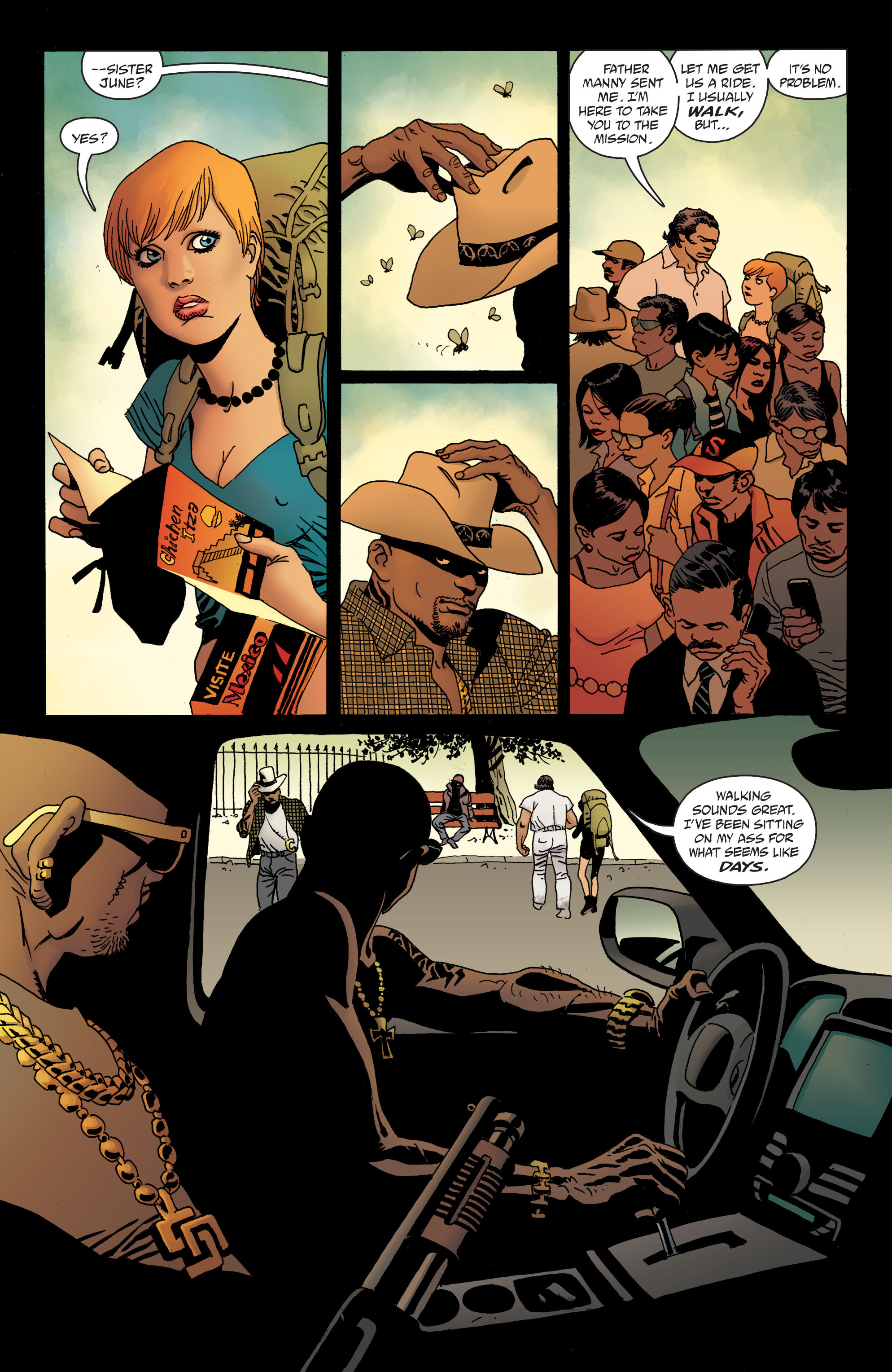 100 Bullets: Brother Lono Full Page 30