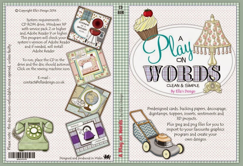 A Play on Words Papercraft CD-Rom