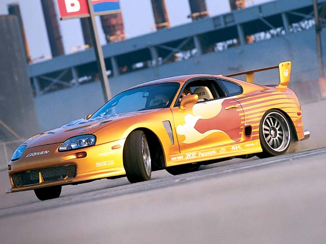 wallpaper zh toyota supra fast and furious 2. Black Bedroom Furniture Sets. Home Design Ideas