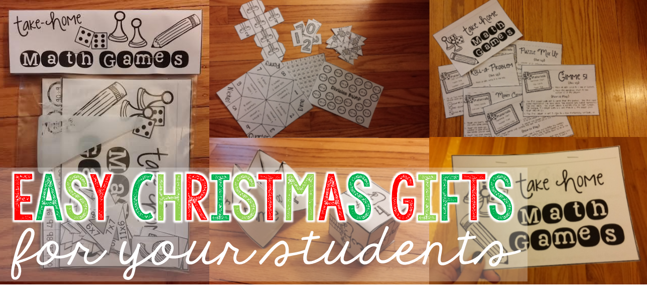The Classroom Game Nook: Easy {& CHEAP!} Christmas Gifts for Your ...