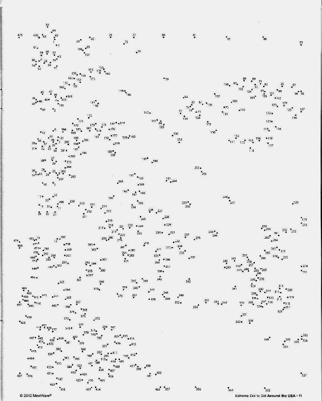 Extreme Dot To Dot Printables 1000 Dots | LZK Gallery