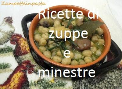 Ricette di zuppe e minestre