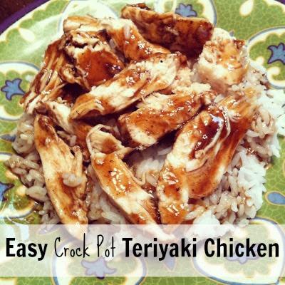 Crock Pot Teriyaki Chicken - Classy Clutter