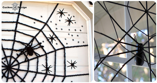 magnetic spiders for Halloween