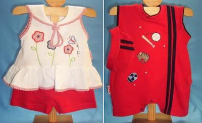 ropa de bebe kukuli