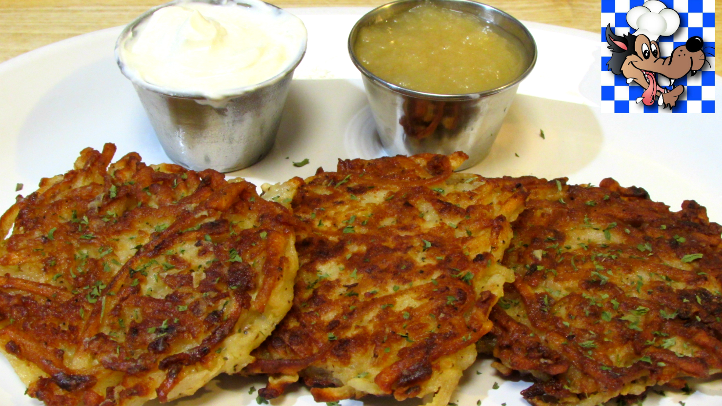 The wolfe pit classic potato pancakes how to make potato pancakes ccuart Choice Image