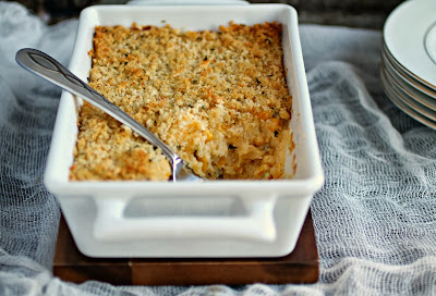 Creamy and Crunchy Corn Casserole