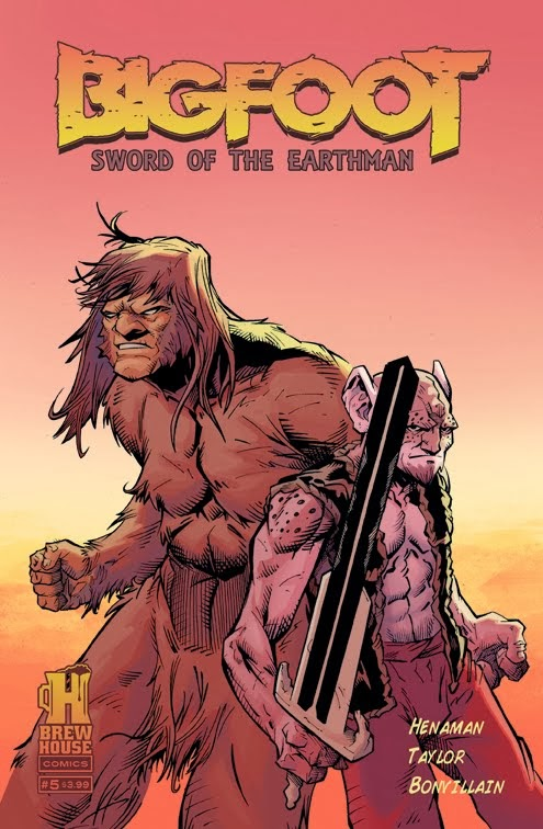 Bigfoot Issue #5 Preview!