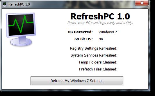 برنامج RefreshPC 2016 الاصدار الاخير Refresh.png