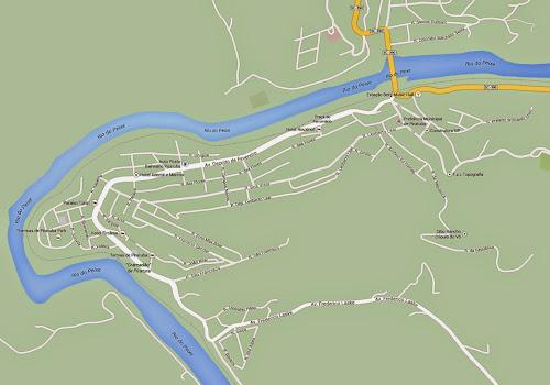 Mapa de Piratuba
