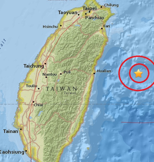 Magnitude 4.8 Earthquake of Yonakuni, Japan 2015-05-28