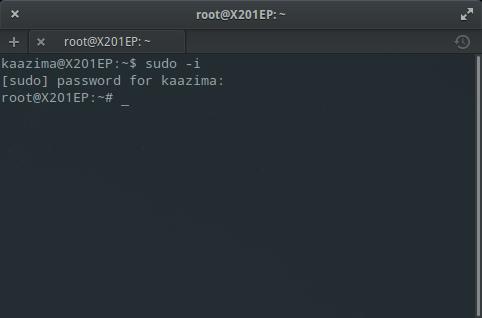 Instal MySQL dan phpMyAdmin : Login root