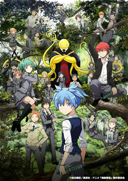 Poster Visual Baru dan Jumlah Episode Anime Ansatsu Kyoushitsu Season 2 Diumumkan