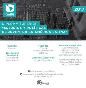 Diploma Superior Estudios y Políticas de Juventud en América Latina